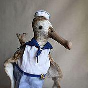 Куклы и игрушки ручной работы. Ярмарка Мастеров - ручная работа Амстердамский альбатрос Соня. Handmade.