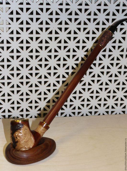 """Подарки для мужчин, ручной работы. Ярмарка Мастеров - ручная работа. Купить Трубка """"Трубка Мира"""". Handmade. Трубка мира, мужчине"""