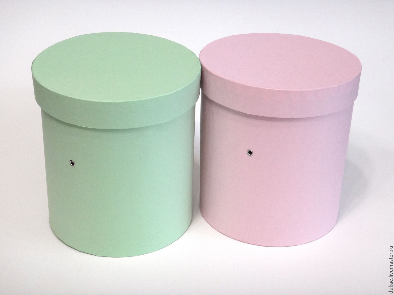 производство шляпных коробок для цветов описание