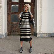 Одежда ручной работы. Ярмарка Мастеров - ручная работа Платье из шёлка LOVE#10. Handmade.