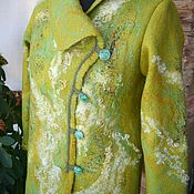 Одежда ручной работы. Ярмарка Мастеров - ручная работа Курточка  валяная. Handmade.
