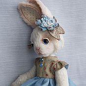 """Куклы и игрушки ручной работы. Ярмарка Мастеров - ручная работа Зайка """"Алина"""", Резерв. Handmade."""