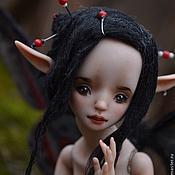 "Куклы и игрушки handmade. Livemaster - original item Porcelain ball jointed doll ""Meili"". Handmade."