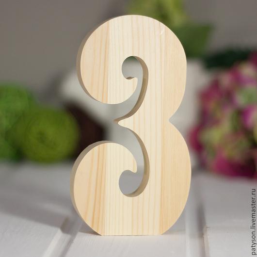 После свадьбы объемные цифры можно использовать для декорирования интерьера (можно составить год, дату и так далее)