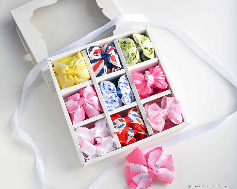 Бантики в коробке #4, Резинка для волос, Сергиев Посад,  Фото №1