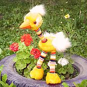 Куклы и игрушки ручной работы. Ярмарка Мастеров - ручная работа Страусёнок-марионетка.. Handmade.