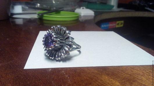 """Кольца ручной работы. Ярмарка Мастеров - ручная работа. Купить кольцо """"Удача"""". Handmade. Кольцо ручной работы, серебряный"""