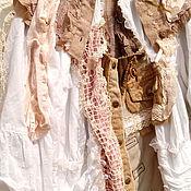 Одежда ручной работы. Ярмарка Мастеров - ручная работа бохо-кофта ЖАРКОЕ ЛЕТО. Handmade.
