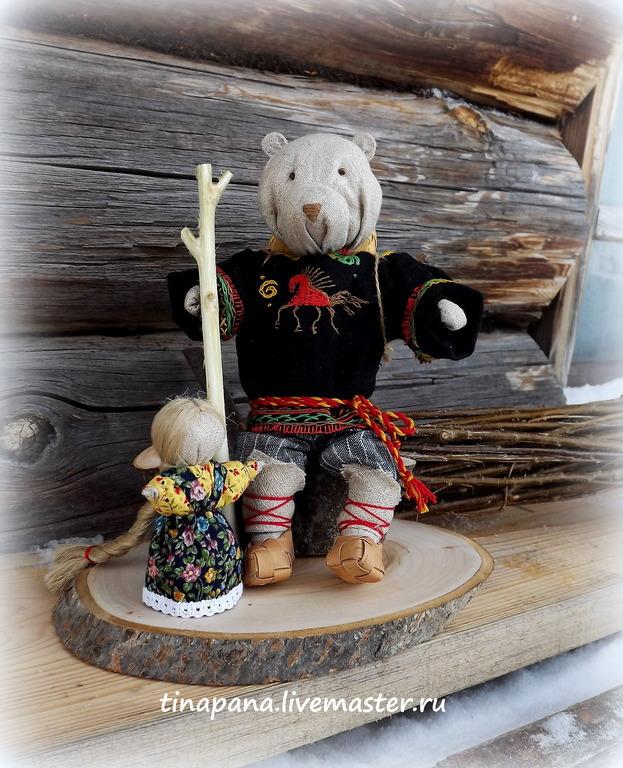 """""""Маша и медведь"""" кукла-сувенир, Souvenirs3, Chelyabinsk,  Фото №1"""