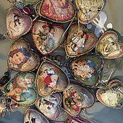 Для дома и интерьера ручной работы. Ярмарка Мастеров - ручная работа Декоративная подвеска сердце. Handmade.