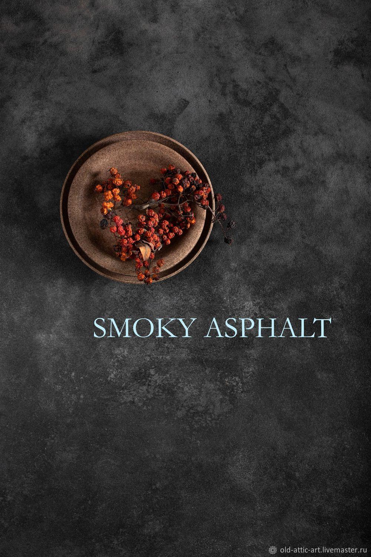 Фон на холсте двухсторонний  SMOKY ASPHALT 95×80 см, Фотокартины, Тверь,  Фото №1
