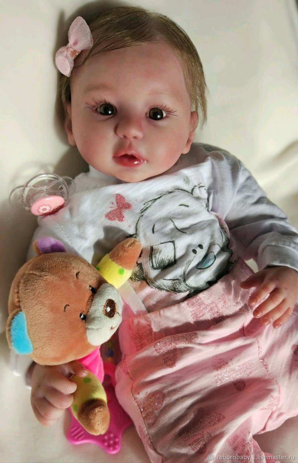 Кукла реборн Ева (на заказ), Куклы и пупсы, Оренбург,  Фото №1