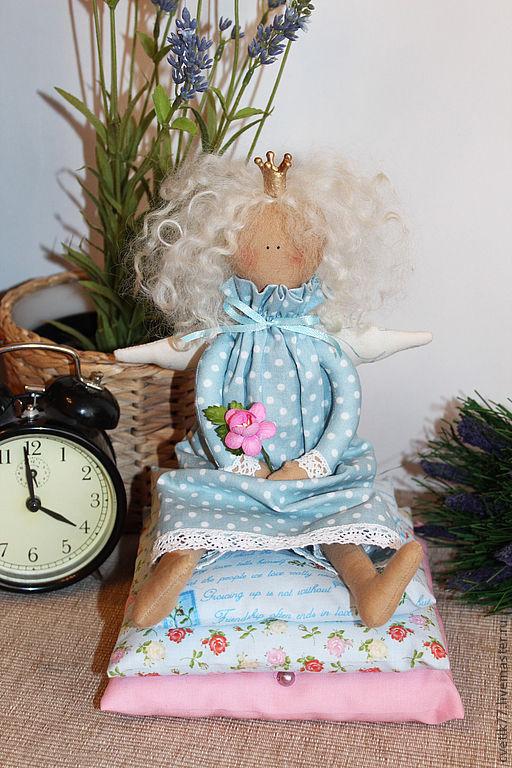 Куклы Тильды ручной работы. Ярмарка Мастеров - ручная работа. Купить Принцесса на горошине.. Handmade. Принцесса, интерьерная игрушка