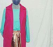 Одежда ручной работы. Ярмарка Мастеров - ручная работа Жилет из пальтовой ткани. Handmade.