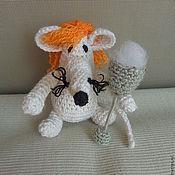 Куклы и игрушки ручной работы. Ярмарка Мастеров - ручная работа Вязаная мышь Марго. Handmade.