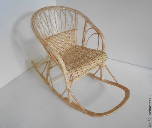 """Мебель ручной работы. Ярмарка Мастеров - ручная работа. Купить Кресло качалка плетеное, """"Комфорт"""". Handmade. Кресло качалка"""