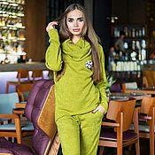 Одежда ручной работы. Ярмарка Мастеров - ручная работа Теплый модный  костюм. Handmade.