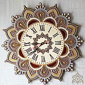 """Часы классические ручной работы. Ярмарка Мастеров - ручная работа Часы: настенные """"Мелодия души"""". Handmade."""