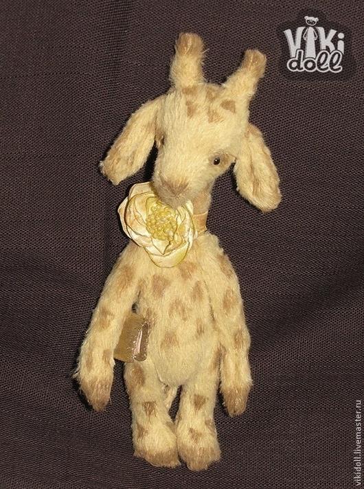 Мишки Тедди ручной работы. Ярмарка Мастеров - ручная работа. Купить Жирафик Луи. Handmade. Бежевый, друзья мишек тедди