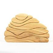 Вальдорфские игры, наборы ручной работы. Ярмарка Мастеров - ручная работа Камешек сильноизгибистый Конструктор, вальдорфская деревянная игрушка. Handmade.