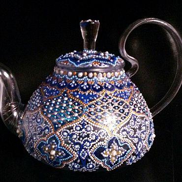 """Посуда ручной работы. Ярмарка Мастеров - ручная работа Чайники: """"Зимний сон"""". Handmade."""