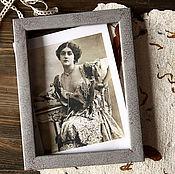 Сувениры и подарки manualidades. Livemaster - hecho a mano Photo frame Recollection. Retro. Handmade.