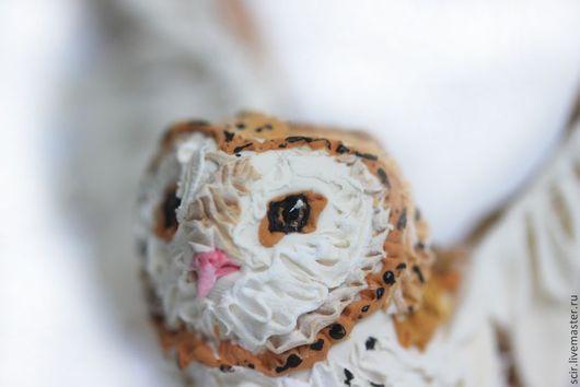 """Игрушки животные, ручной работы. Ярмарка Мастеров - ручная работа. Купить фигурка маленькая """"сова"""" (статуэтка совы сипухи, из мультика стражи). Handmade."""