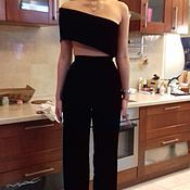Одежда handmade. Livemaster - original item Evening jumpsuit from velvet.. Handmade.