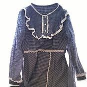 """Одежда ручной работы. Ярмарка Мастеров - ручная работа Платье """"Из бабушкиного сундука"""". Handmade."""