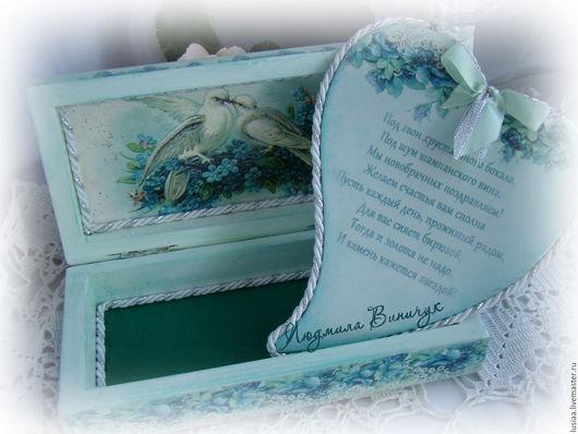 """Подарки на свадьбу ручной работы. Ярмарка Мастеров - ручная работа. Купить Свадебный салон """"Подарок на Свадьбу"""" набор на свадьбу. Handmade."""