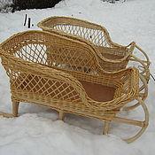 Купить Санки деревянные Ярмарка Мастеров - ручная работа, handmade
