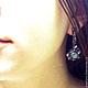 """Комплекты украшений ручной работы. Серьги и кольцо """"Переливы шелка"""". Anna Rekant Jewellery. Интернет-магазин Ярмарка Мастеров."""