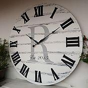 Для дома и интерьера handmade. Livemaster - original item Copy of Copy of Copy of Wall clock 100 cm. Handmade.