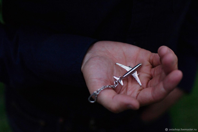 """Брелок """"Airbus-320"""" (Серебро 925), Брелок, Москва,  Фото №1"""