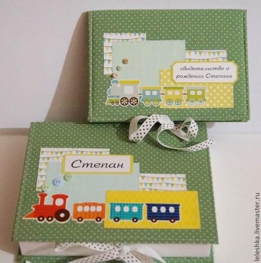 Подарки для новорожденных, ручной работы. Ярмарка Мастеров - ручная работа. Купить Набор для малыша. Handmade. Коробочка, малыш, скрап бумага