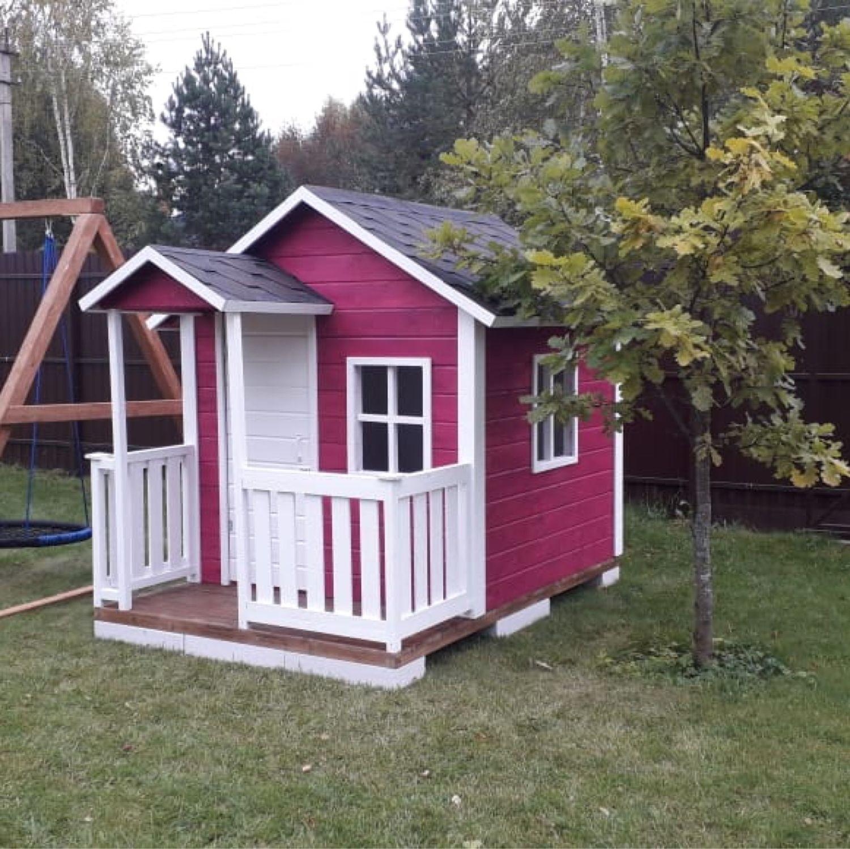 Детский деревянный домик, Домики, Дмитров,  Фото №1
