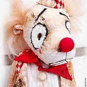Куклы и игрушки ручной работы. Ярмарка Мастеров - ручная работа Мишка Клоун Пьер. Handmade.