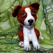 Куклы и игрушки ручной работы. Ярмарка Мастеров - ручная работа Авторская интерьерная  игрушка щенок Лапушка. Handmade.