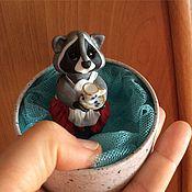 """Куклы и игрушки ручной работы. Ярмарка Мастеров - ручная работа Миниатюра """"Хозяюшка"""". Handmade."""