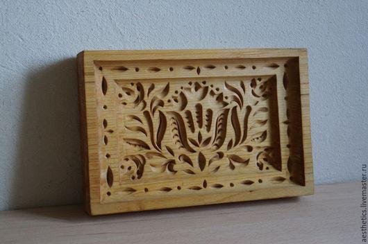 Кухня ручной работы. Ярмарка Мастеров - ручная работа. Купить Пряничная доска из дерева Тюльпаны. Handmade. Пряничная доска