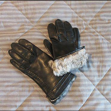 Винтаж ручной работы. Ярмарка Мастеров - ручная работа Винтажные аксессуары: женские перчатки. Handmade.