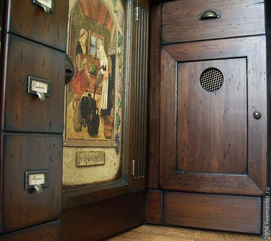 Мебель ручной работы. Ярмарка Мастеров - ручная работа. Купить Кухня из дерева Кухня ручной работы под старину. Handmade.