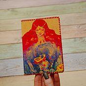 Канцелярские товары handmade. Livemaster - original item Passport cover
