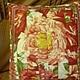 Текстиль, ковры ручной работы. Наволочка на подушку Роза. Надежда (nadiv). Интернет-магазин Ярмарка Мастеров. Подарок, подушка на диван