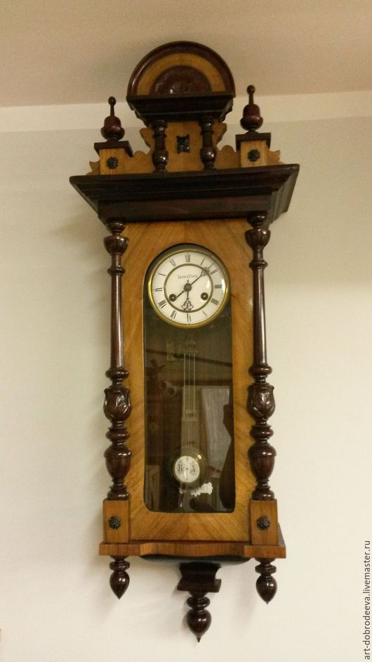 Часы для дома ручной работы. Ярмарка Мастеров - ручная работа. Купить Часы антикварные настенные Le roi a paris. Handmade.