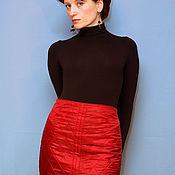 Одежда ручной работы. Ярмарка Мастеров - ручная работа юбка двухсторонняя. Handmade.
