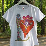 Одежда ручной работы. Ярмарка Мастеров - ручная работа портрет буквы Лю. Handmade.