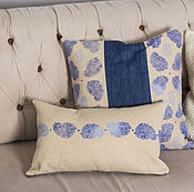 Для дома и интерьера handmade. Livemaster - original item Decorative pillows Paisley. Handmade.