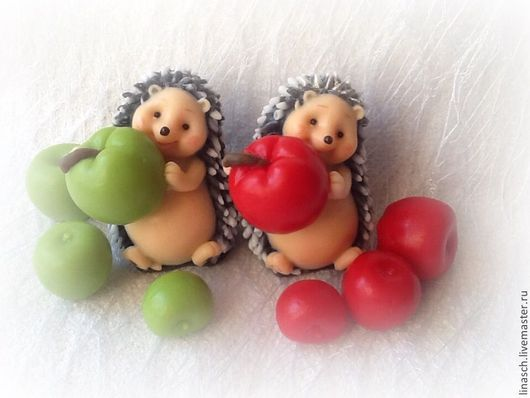 Мыло ручной работы. Ярмарка Мастеров - ручная работа. Купить Ежик с яблоком. Handmade. Зеленый, мыло сувенирное, подарок женщине