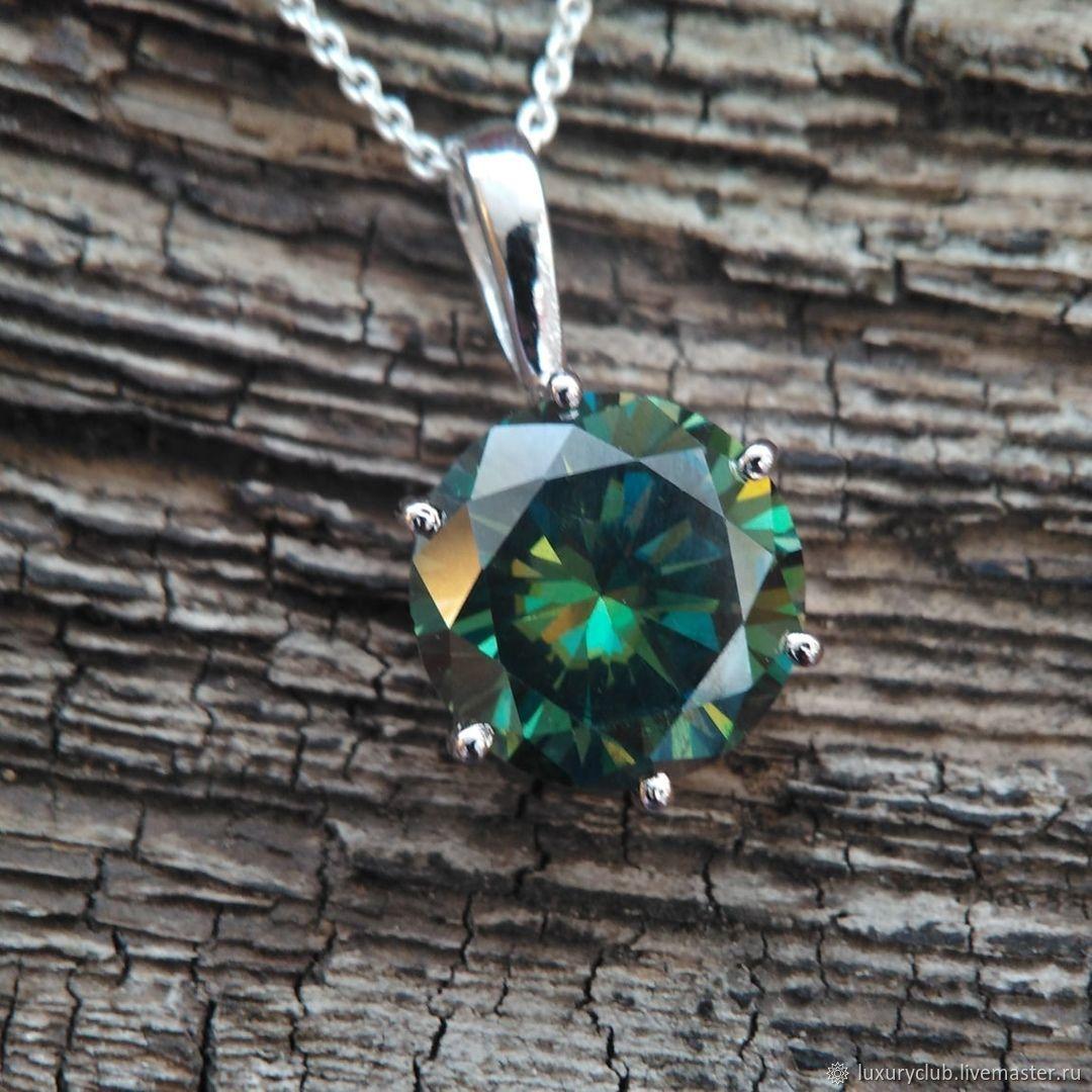 Diamond pendant 'Awakening' 9 ct buy, Pendant, Tolyatti,  Фото №1